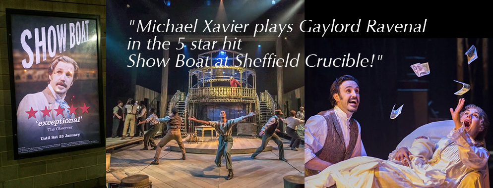 MICHAEL AS GAYLORD RAVENAL IN SHOW BOAT